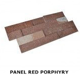 panel Red Porphyry